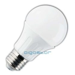 LED izzó A60 E27 9W 280° meleg fehér dimmelhető