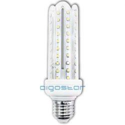 Kukorica LED izzó, 12W, E27 foglalattal, meleg fehér