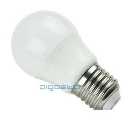 LED izzó G45 E27 5W 280° hideg fehér