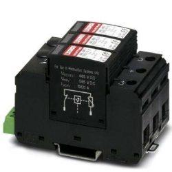 T1/T2 típusú villámáram-/túlfeszültség-levezető - VAL-MS-T1/T2 600DC-PV/2+V-FM