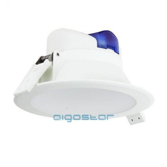 AIGOSTAR LED beépíthető lámpa E5 Downlight 8W hideg fehér (furat:95mm)
