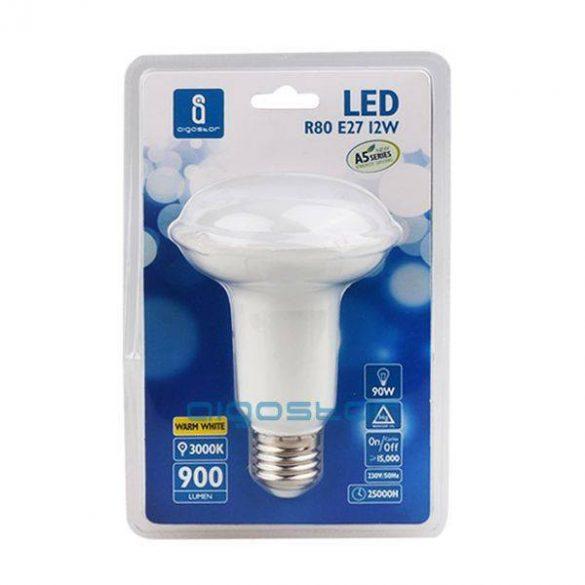 Aigostar LED Reflektor izzó R80 E27 12W Hideg fehér