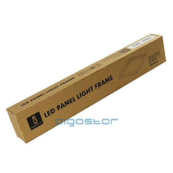 AIGOSTAR LED panel kiemelő keret fehér 600x600mm