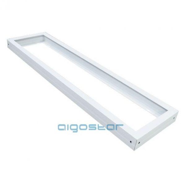AIGOSTAR LED panel kiemelő keret fehér 300x1200mm