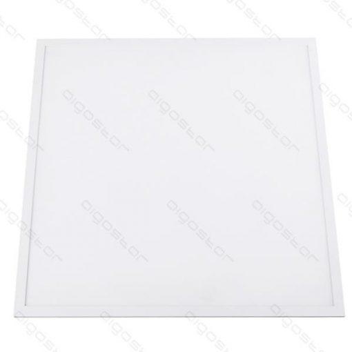 LED panel 600x600 40W meleg fehér fehér keret dugvillával