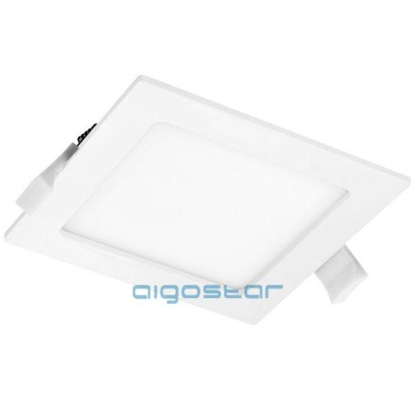 AIGOSTAR Mini Led Panel Négyszögletes 6W természetes fehér (Furat:105x105mm)