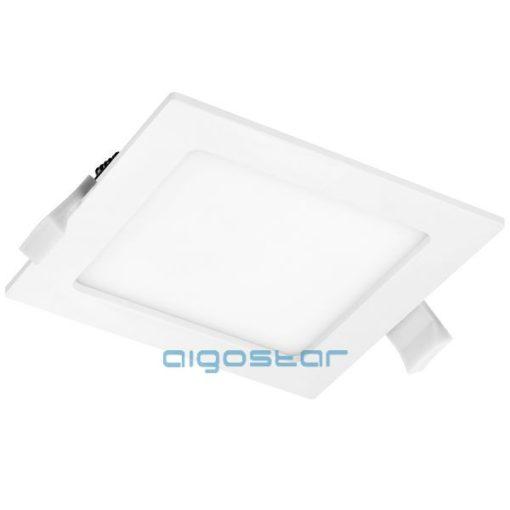 AIGOSTAR Mini Led Panel Négyszögletes 6W hideg fehér (Furat:105x105mm)