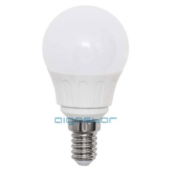 LED izzó G45 E14 6W 270° meleg fehér