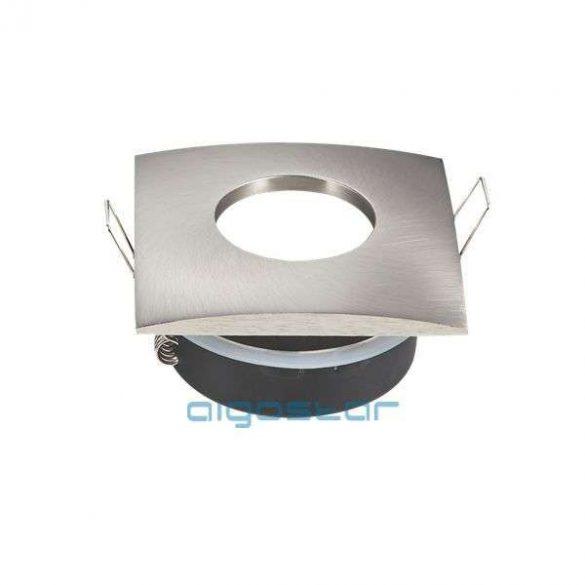 LED spot lámpa beépítő keret TS75S INOX GU10 és MR16-os LED izzókhoz