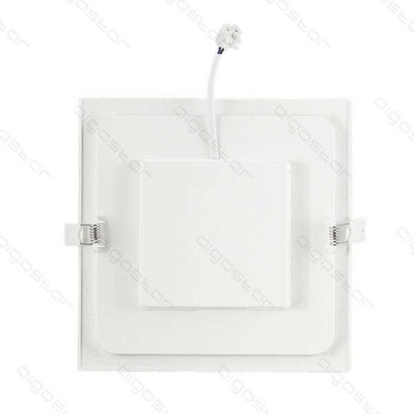 AIGOSTAR Mini Led Panel E6 Beépíthető Négyszögletes 12W meleg fehér