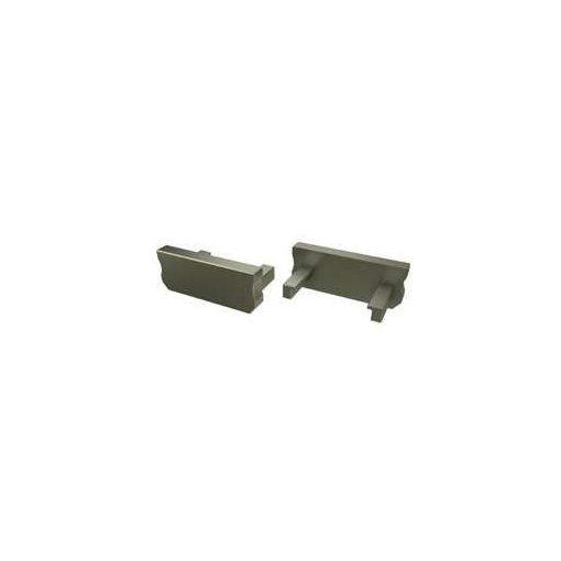 Alumínium Végzáró Standard (A) led profilokhoz Bronz Teli