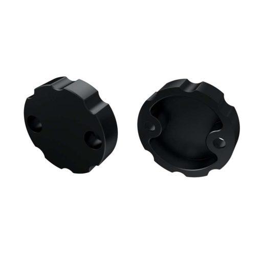 Alumínium Végzáró Alumínium LUMINES COSMO profilokhoz Fekete