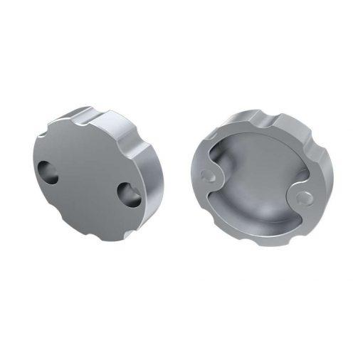 Alumínium Végzáró Alumínium LUMINES COSMO profilokhoz Ezüst