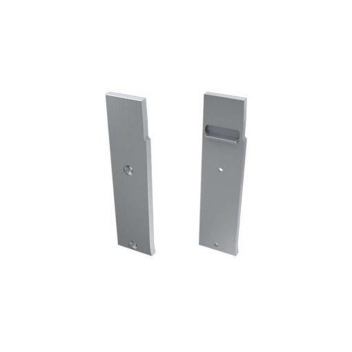 Alumínium Végzáró FLARO típusú led profilokhoz Ezüst Balos