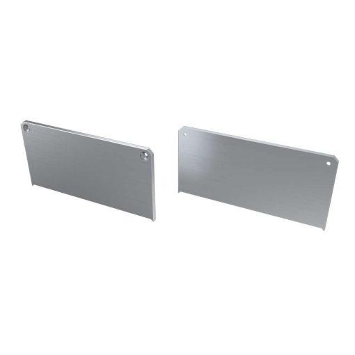 Alumínium Végzáró M2 LARGO típusú led profilokhoz Ezüst