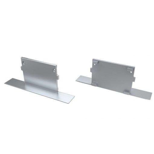 Alumínium Végzáró M4 TALIA típusú led profilokhoz Full Ezüst