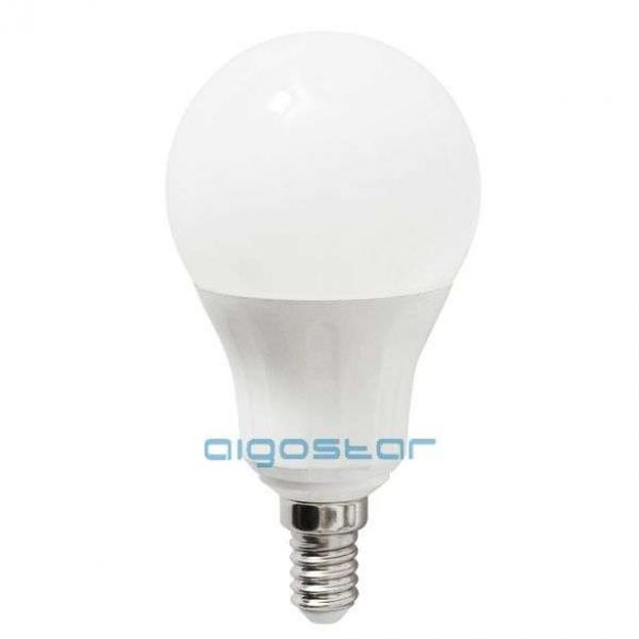 Aigostar LED Gömb izzó A60 E14 6W Meleg fehér 280°