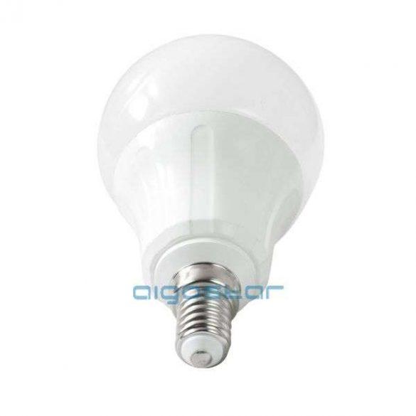 LED izzó 8W, E14 foglalattal, meleg fehér