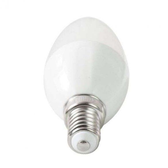 AIGOSTAR LED izzó C37 E14 3W 270° meleg fehér 3 év garanciális