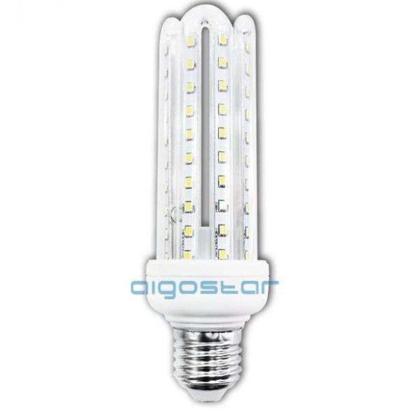 Kukorica LED izzó, 12W, E27 foglalattal, hideg fehér