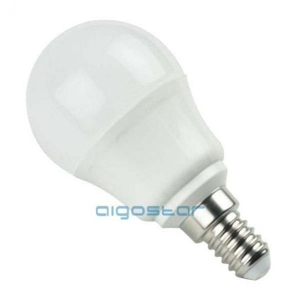 LED izzó, 5W E14 foglalattal, meleg fehér, 280˙fényszórással