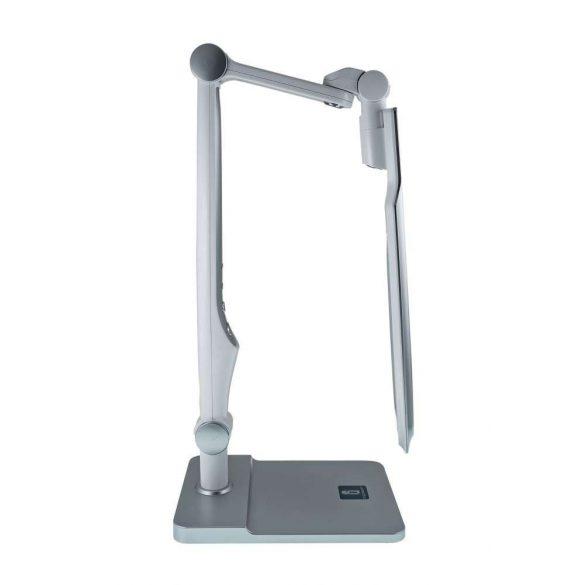 Aigostar LED asztali lámpa lakk ezüst 10W érintős-fényerő és színhőmérséklet szabályozható