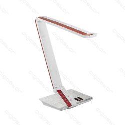 Aigostar-LED-asztali-lampa-feher-piros-csikkal-10W-erintos-fenyeroszabalyozhato