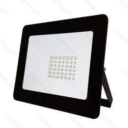 LED SLIM Reflektor 30W hideg fehér IP65