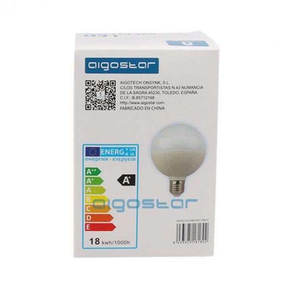 Aigostar LED Gömb izzó G95 E27 18W Hideg fehér
