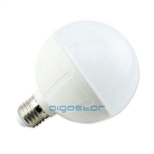 Aigostar LED Gömb izzó G95 E27 15W Meleg fehér