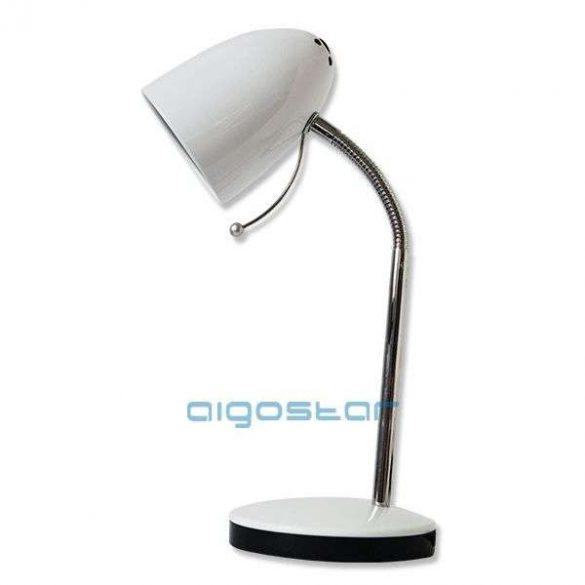 Aigostar-Asztali-lampa-feher-E27-foglalattal