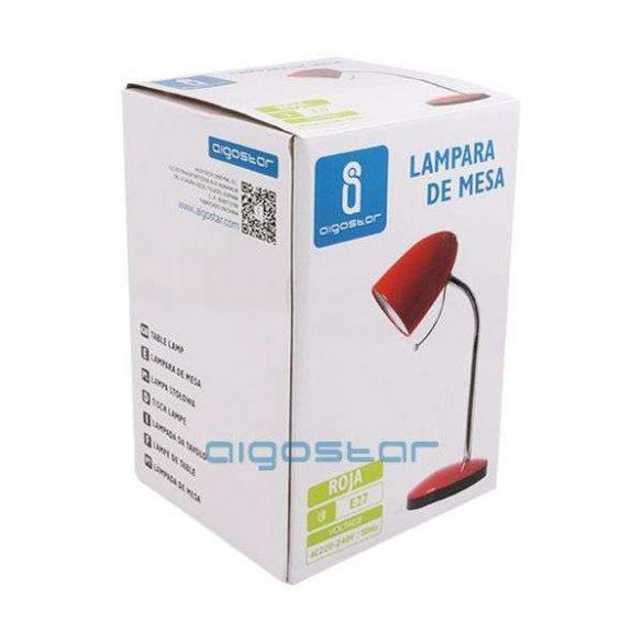 Aigostar-Asztali-lampa-piros-E27-foglalattal