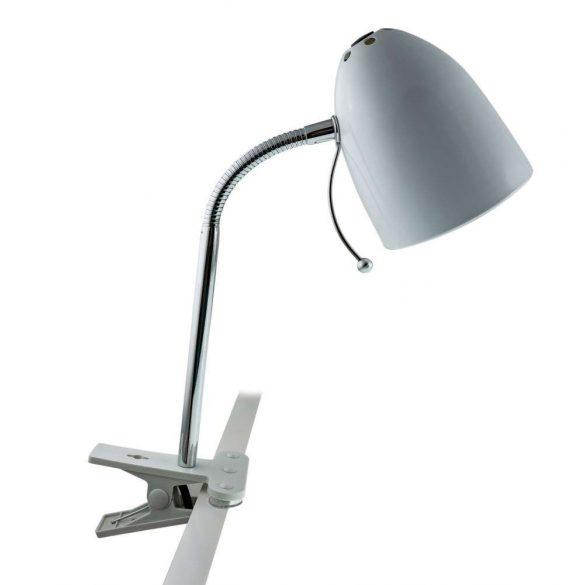 Aigostar-Asztali-lampa-ezust-csiptetos-E27-foglalattal