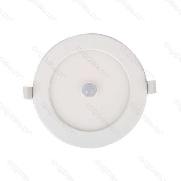 AIGOSTAR Mini Led Panel Szenzoros E6 Kör 12W meleg fehér (furat:155mm)