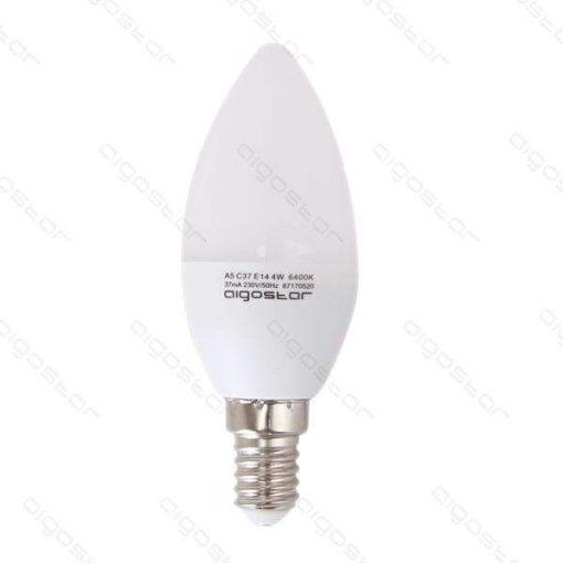 Aigostar LED Gyertya izzó E14 3W Természeres fehér