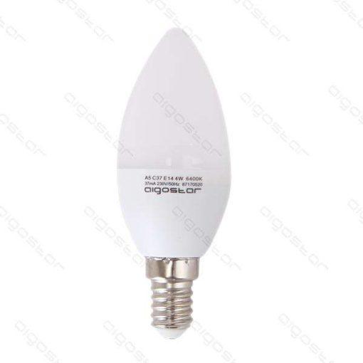 Aigostar Led Gyertya izzó E14 6W Természetes fehér