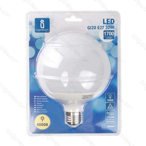 Aigostar LED Gömb izzó G120 20W E27 Természetes fehér