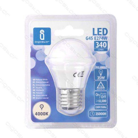 Aigostar LED Gömb izzó G45 E27 4W 230° Természetes fehér