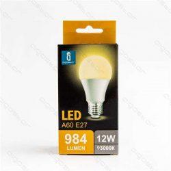 Aigostar LED Gömb izzó A60 E27 12W Meleg fehér 280° dobozos