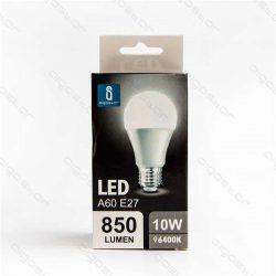 Aigostar LED Gömb izzó A60 E27 10W Hideg fehér 280° dobozos