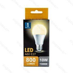 Aigostar LED Gömb izzó A60 E27 10W Meleg fehér 280° dobozos
