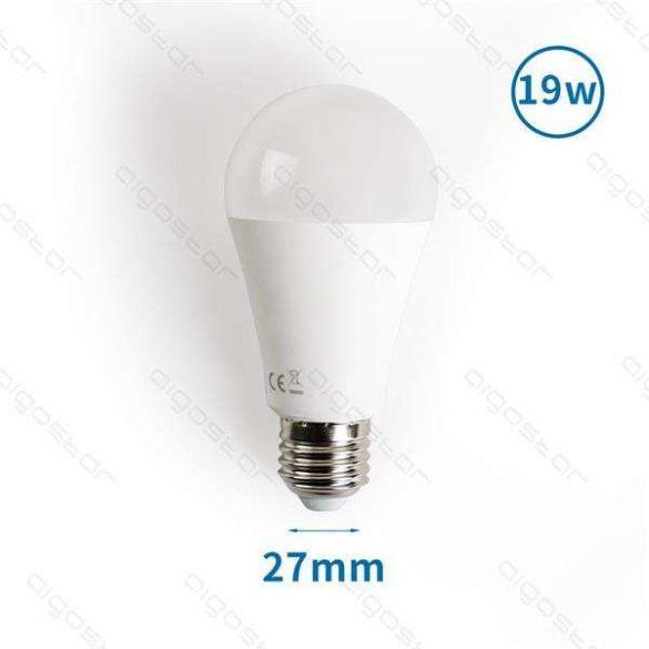 Aigostar LED izzó A60 E27 19W Hideg fehér 180° szórásszögű 3év jótállás