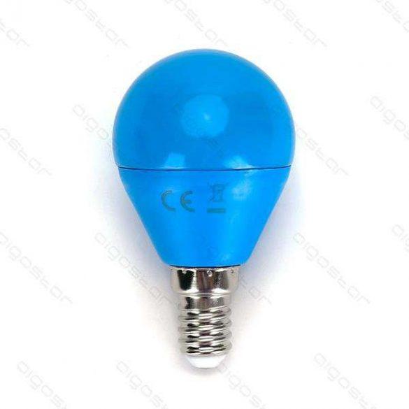 Aigostar Led izzó G45 E14 4W Kék búrával