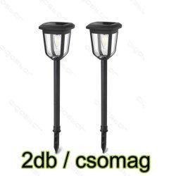 Aigostar Napelemes LED kerti lámpa 0.3W Hideg fehér IP44 2db-os szett