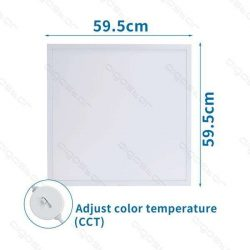 Aigostar Back-Lit LED Panel 600x600x30mm 32W CCT UGR19 120lm/W