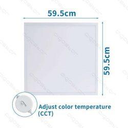 Aigostar Back-Lit LED Panel 600x600x30mm 32W CCT UGR19 120lm/W