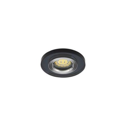 Spot lámpatest kerek ROVO fekere fix (furat: 60mm)