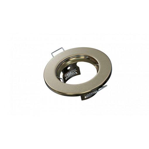 Spot lámpatest kerek SARA sárgazér fix (furat: 55mm)
