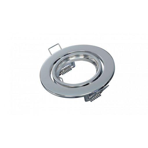Spot lámpatest kerek VEPA króm dönthető (furat: 70mm)