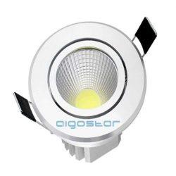 AIGOSTAR Led beépíthető spotlámpa 5W COB meleg fehér